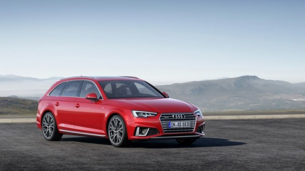 Audi A4 update 2019 front