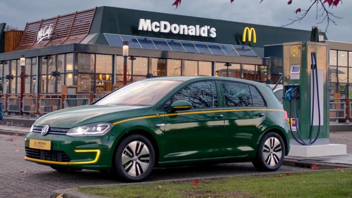 Volkswagen E Golf McDrive edition voor het Ronald McDonald Kinderfonds