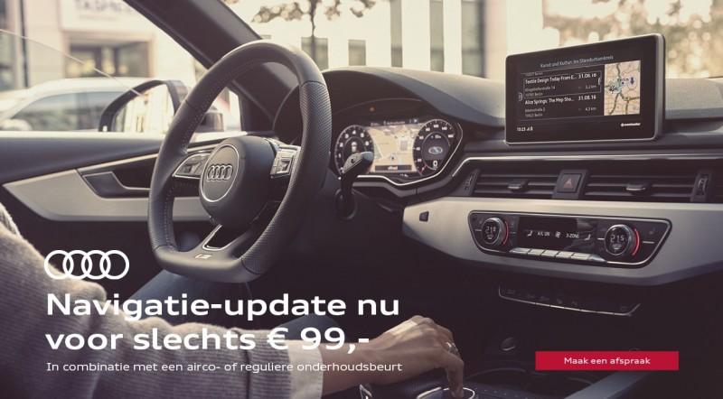 Navaigatie update actie Audi